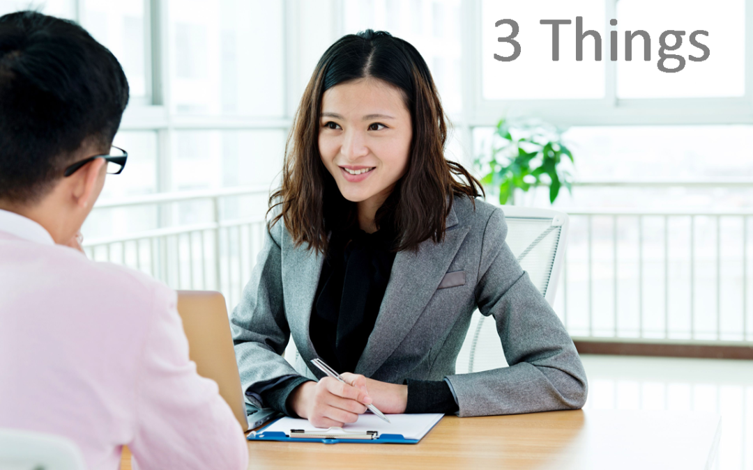 The 3 Things Every Interviewer Should Know