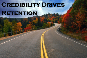Credibility Drives Employee Retention