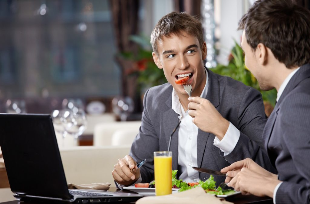 Sharing a Meal with a Candidate