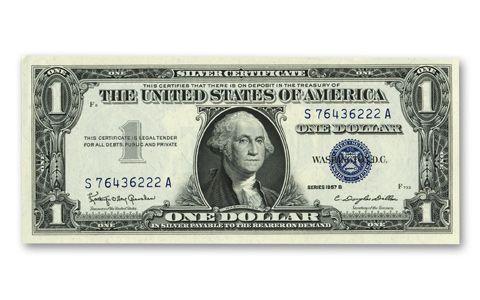 Show them the Dollar Bill