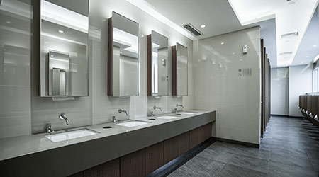 Upgrading the Bathrooms