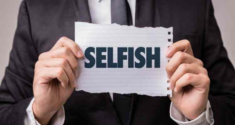 Being Selfish Works